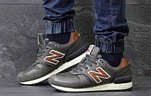 Мужские зимние кроссовки New Balance 670 кожаные,оливковые 42р, фото 2