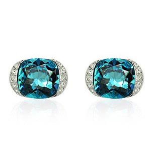 Серьги с кристаллами Swarovski es276
