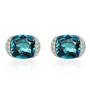 Серьги с кристаллами Swarovski es276, фото 2