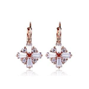 Серьги с кристаллами Swarovski es282