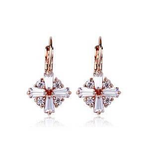 Серьги с кристаллами Swarovski es282, фото 2