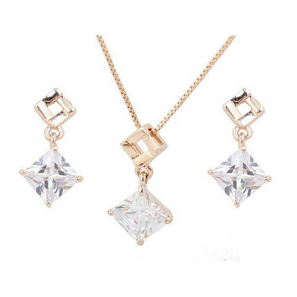 Комплект с кристаллами Сваровски kp24, фото 2