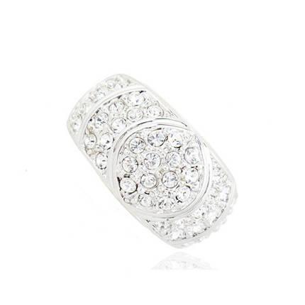 Кольцо с кристаллами Сваровски rs-128, фото 2