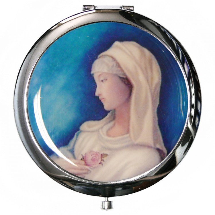Зеркало косметическое «Женщина» d-7 см.