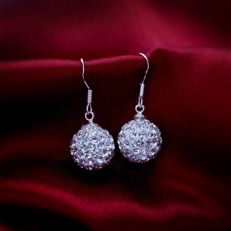 Серьги с кристаллами Swarovski es326