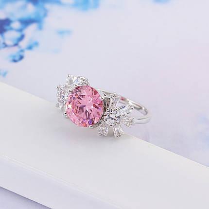 Кольцо с кристаллами Сваровски rs-150, фото 2