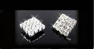 Сережки з кристалами Swarovski es329, фото 2