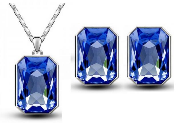 Комплект с кристаллами Сваровски kp47, фото 2