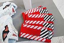 Носки Off-white Red, фото 3
