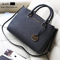 Женская сумка Michael Kors (Майкл Корс) bg34-black (ЧЕРНАЯ) bg2