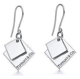 Серьги Tiffany & Co s-67