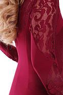 Женское романтичное платье Шерилин / размер 54 цвет марсала, фото 3