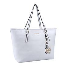 Женская сумка Michael Kors (Майкл Корс) белая bg23-white копия