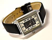 Часы механические Luch (сделано в Белоруссии) золотистые с белым циферблатом