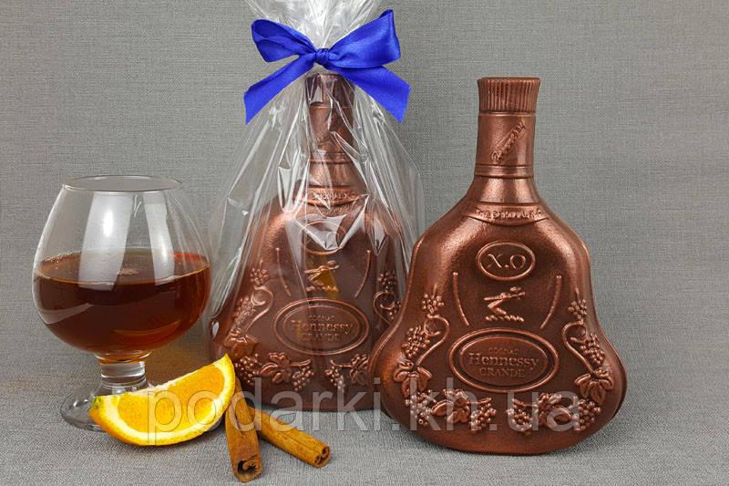 "Бутылка ""Hennesy"" из шоколада"