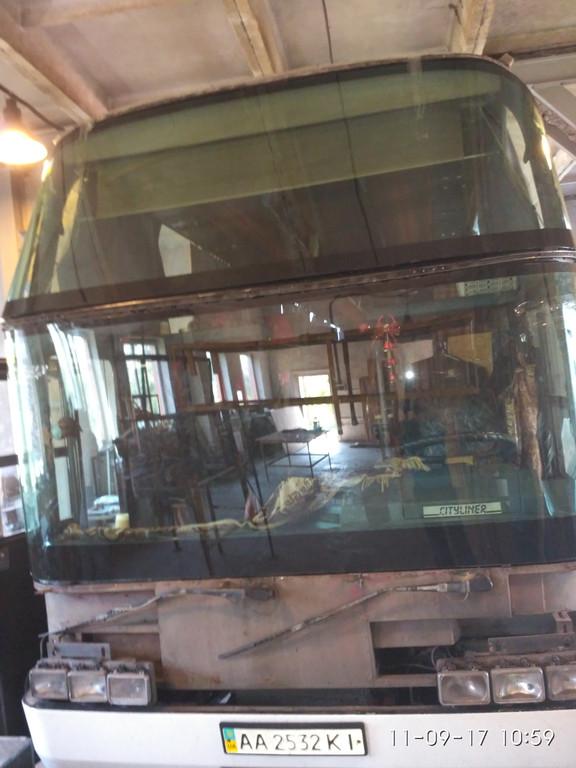 Замена лобового стекла Neoplan 116 5