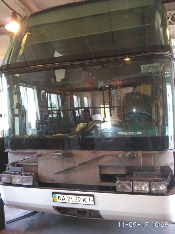 Замена лобового стекла Neoplan 116 6