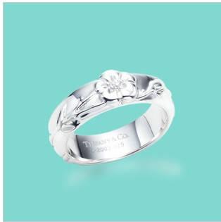 Кольцо Tiffany & Co k-5, фото 2