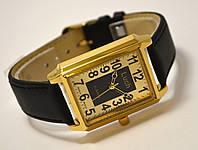 Часы механические Luch (сделано в Белоруссии) золотистые