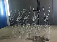 Светодиодный Олень LED 1,2 метра, новогодний олень