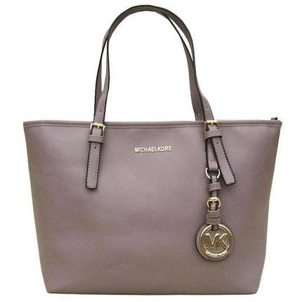 Женская сумка Michael Kors (Майкл Корс) bg23-grey копия, фото 2