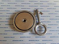Поисковый неодимовый магнит на 120 кг Польша