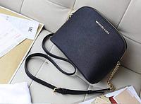 Женская сумка мини Michael Kors (Майкл Корс) bg113 (ЧЕРНАЯ)