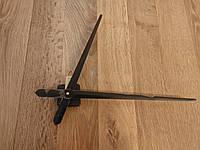 Часовой механизм с серебряными большими стрелками 39 см