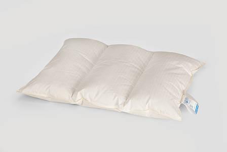 Подушка облегченная трехкамерная, 100% пух Белый пух