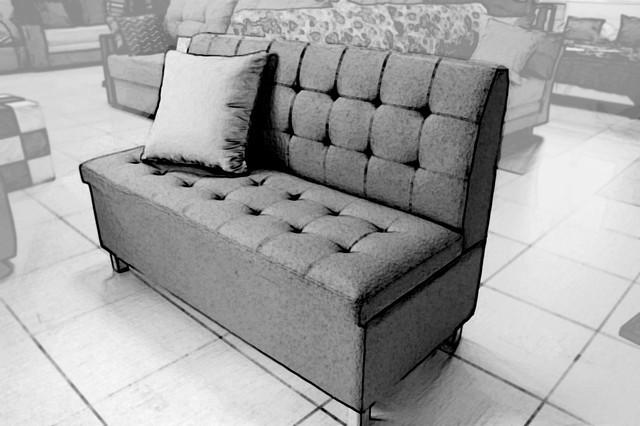Кухонні прямі дивани