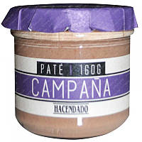 Паштет свиной Hacendado Pate Campana БЕЗ ГЛЮТЕНА, 160 г , фото 1
