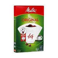 Фільтри для кави Melitta 1*4 Original, white