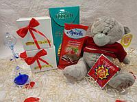 Большой набор с мишкой и сладостями Арт. 174