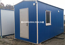 Вагончик с душевыми кабинами, мобильный (5 x 2.4 м.), на основе цельно-сварного металлокаркаса., фото 2