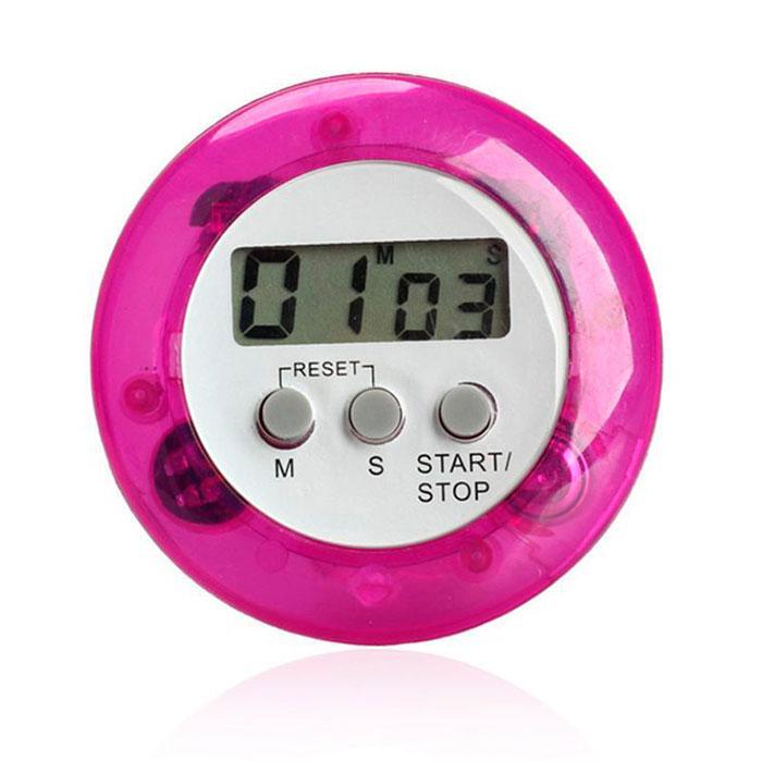 Кухонный таймер на магните, секундомер, будильник электронный разные цвета