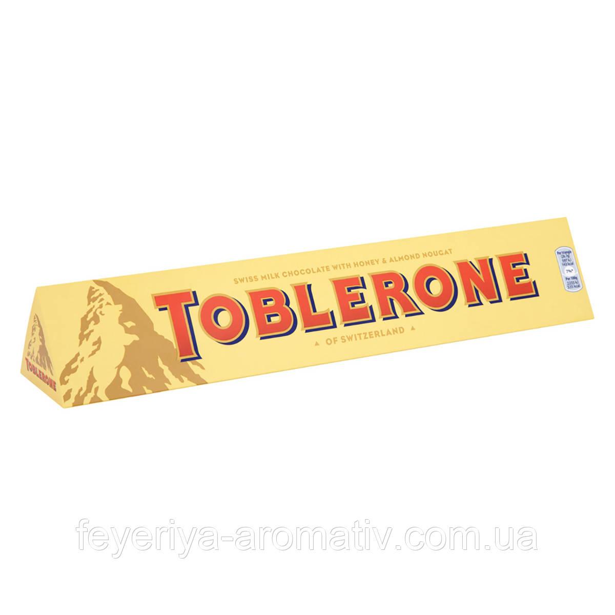 Молочный шоколад Toblerone 100g (Швейцария)