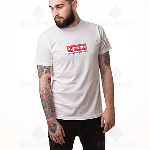 Supreme x Гоша Рубчинский / футболка белая