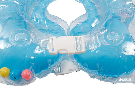 Круг для купания Lindo синий, фото 2
