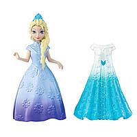 """Мини-принцесса Эльза Дисней с дополнительным платьем из м/ф """"Ледяное сердце"""" / Disney Elsa Frozen MagiClip"""
