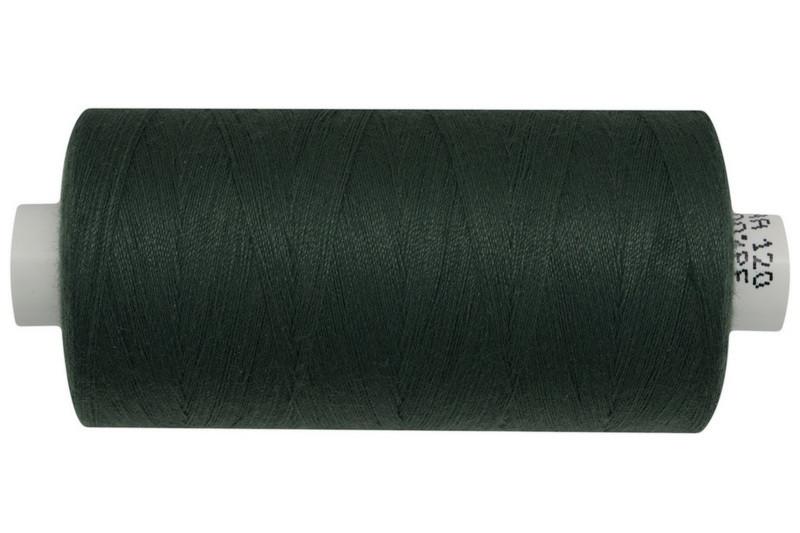 Нитка джинсовая АРЕНА 120 1000 метров. Глубокий темно-зеленый - №503, цена за 5 катушек. по 1000 метров.