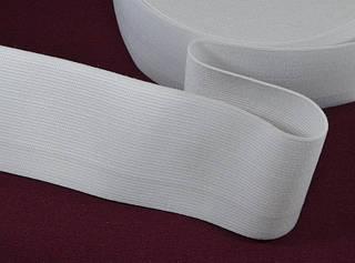 Резинка из текстиля арт. 1314WH/65мм, цена за рулон 33 метра.