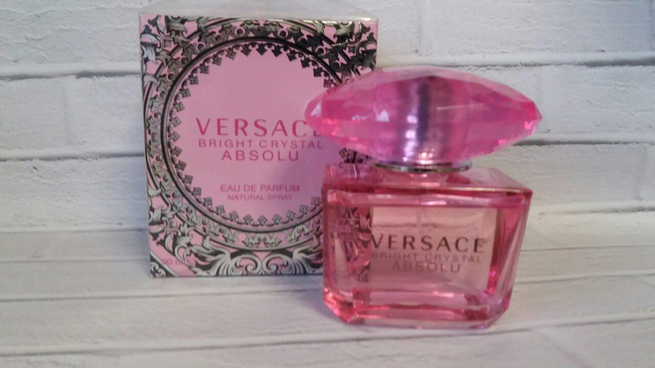 Женская парфюмерная вода Versace Bright Crystal Absolu, версаче духи женские  розовые - Larinel в Харькове 657f4a3af71