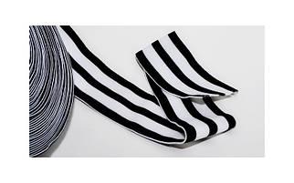 Резинка текстильная в полоску