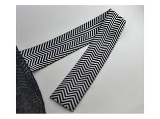 Резинка текстильная рисунок ёлочка