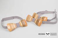 Эксклюзивная деревянная бабочка, ручной работы, фото 1