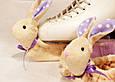 Сушіння на лезо ковзанів, м'які Зайчика (фіолетові), фото 5