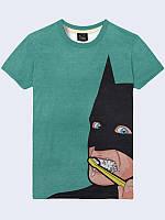 Футболка Бэтмен чистит зубы