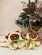 Сушки на лезвие коньков, мягкие Котята (бело-коричневые), фото 2