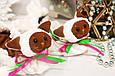 Сушки на лезвие коньков, мягкие Котята (бело-коричневые), фото 3