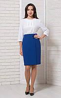 Блуза офисная белая BerdToni